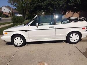 1989 Volkswagen Cabrio Convertible