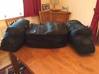 Set of Harley Davidson Electra Glide side & topbox lift out bags