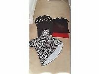 3 x ladies tops size 10 excellent condition