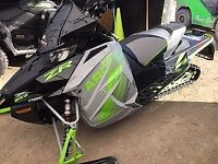 2018 Arctic Cat ZR 9000 RR 137 Guelph Ontario Preview