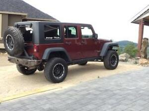 2008 Jeep Wrangler rubicon unlimited