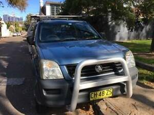 **READY FOR WORK** 2004 Holden Rodeo Ute Erskineville Inner Sydney Preview