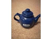 Collectable Tetley Teapot - Navy Blue