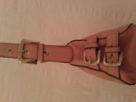 Nine West pale pink handbag