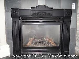 Continental Gas Fireplace Insert. C