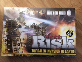 Risk Doctor Who the Dalek Invasion of Earth Board Game - Brand new, sealed box