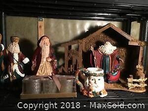 Collection Of Christmas Table Decorations