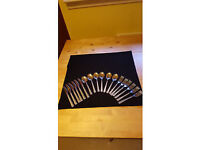 18 piece Stainless steel cutlery set £1.50