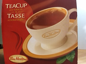 COLLECTOR TIM'S CUP AND SAUCER SET
