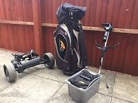 Powacaddy Classic Legend trolley and bag