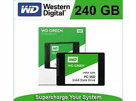 Laptop upgrade - 240 GB WD Green Solid-State Drive (brand new in retail package