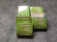 Printer ink cartridges - full set of compatible cartridges