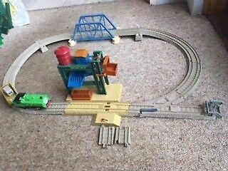Duck at McColls Farm,Plastic Thomas Train Set, Perfect Condition