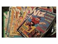 Viz, Beano, Zit, Bunty, Debbie, Jackie etc comics