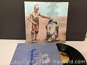 Original 1977 Star Wars LP Story Soundtrack