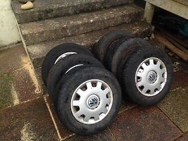 195/70/14 Steel wheels and tyres fiat scudo, Citroen dispatch, Peugeot expert