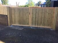 Craftsman built gates for driveways and gardens . Fences to match. Built to last.