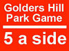 Need 2 players for free game this Saturday, 2:30pm, at the Golders Hill Park. Golders Green, London