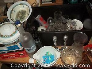Dishes Glassware Candlesticks Pyrex A
