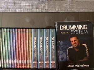 Cours de drum-Drumeo drumming system-complet et neuf