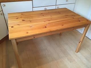 Pine Kitchen Table Ikea Ingo In Cambridge Cambridgeshire