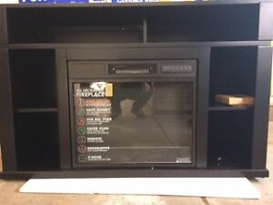 New Electric Fireplace and Entertainment Stand save $600!