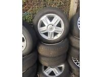RENAULT 16 INCH ALLOY WHEELS (set of 4) 205/55 R16