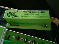 Subbuteo table soccer figures
