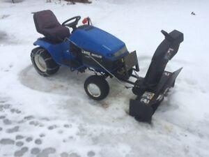 Tractor with Snowblower