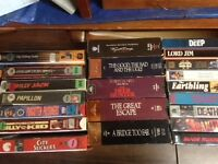 VHS and DVD s