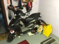 Piaggio NRG moped Liquid cooled 2009 3600 miles