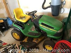 John Deere Riding Lawn Mower C