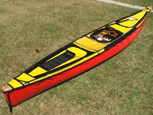 17 ft Solo Tripping Kevlar Canoe