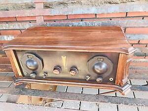 Antique Mercury Super Ten Transistor Radio