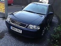 audi a3 2002 blue 5 door 1.6 petrol automatic-Breaking For Spares Also