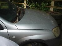 CORSA COMBO IN SILVER WING BONNET Breaking for parts