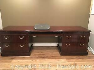 Reproduction Antique Desk Unit