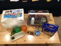 Hamster/Mouse cage and accessories