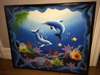 Dolphins' painting - needs to go!