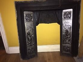 Cast iron fire surround in excellent condition