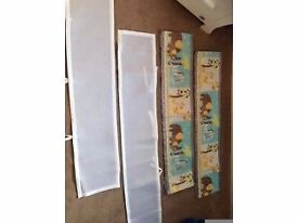 Breathable baby cot liners
