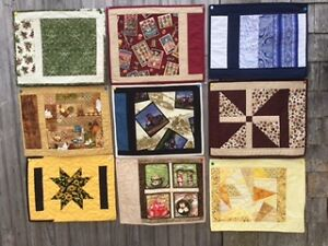 HAND QUILTED PLACE MATS