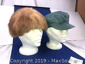 7cf6ada2 Leather Fur Hat   Kijiji in Ontario. - Buy, Sell & Save with ...