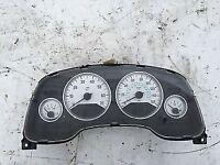 astra mk4 coupe white speedo clock