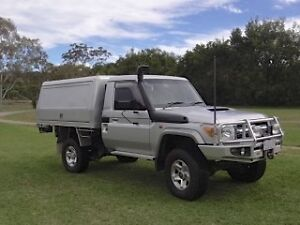 2010 TOYOTA LANDCRUISER CAB CHASSIS GXL Springbrook Gold Coast South Preview