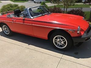 1979 MG MGB Coupe (2 door) with Overdrive