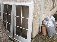 4 Double glazed timber windows