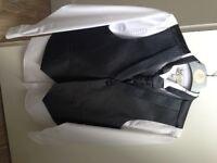 Smart 3-piece waistcoat grey as new