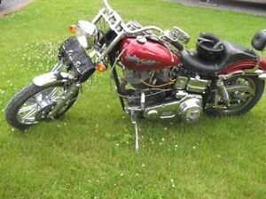 Custom Harley - low mileage