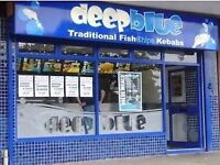 PART TIME FISH & CHIP SHOP STAFF REQUIRED IN GREAT BARR